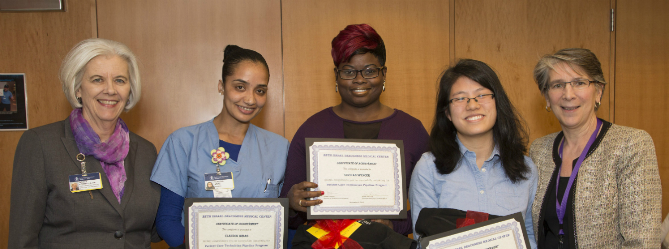 Beth Israel Deaconess Medical Center celebrates graduates of employee career advancement initiative
